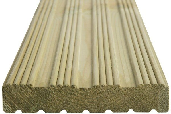 Grooved & Reeded Reversible Board - 27x144
