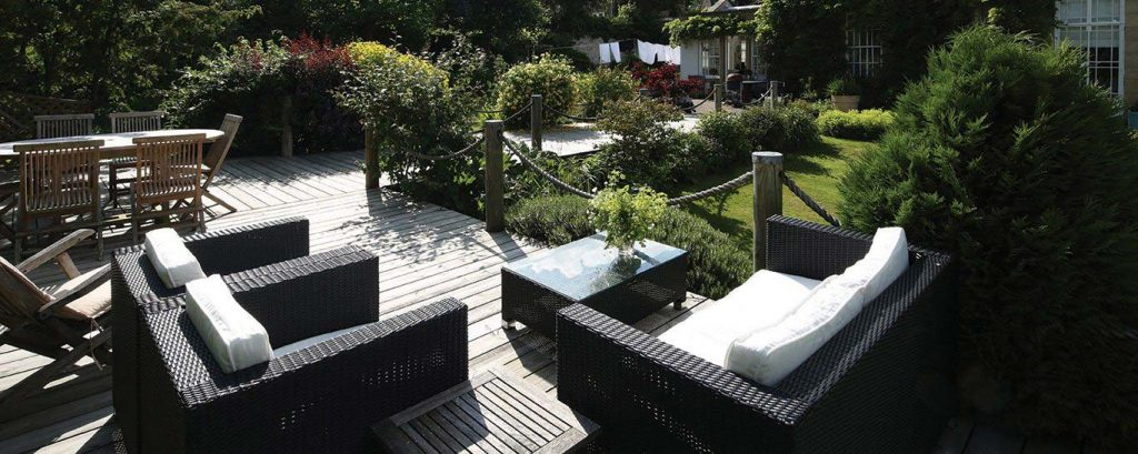 Smooth timber deck boards