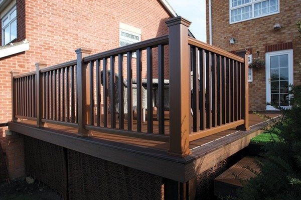 Trex Transcend railing - Tree House