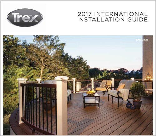 Trex international installation guide brochure cover