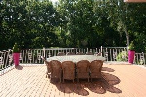 Trex decking installed by Outdoor Deck Company