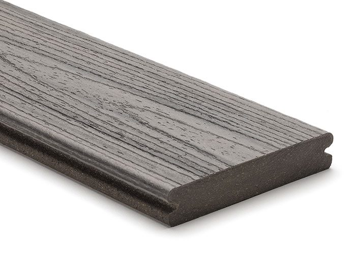 Trex Transcend Island Mist grooved board