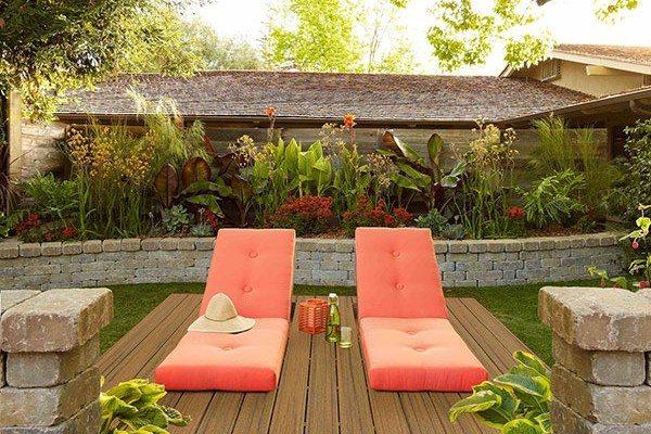 Trex Contour Torino Brown deckchairs