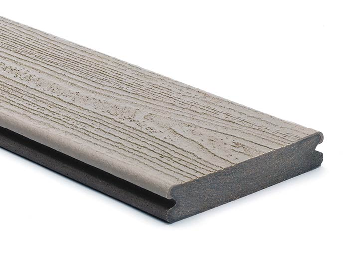Trex Transcend Gravel Path grooved board
