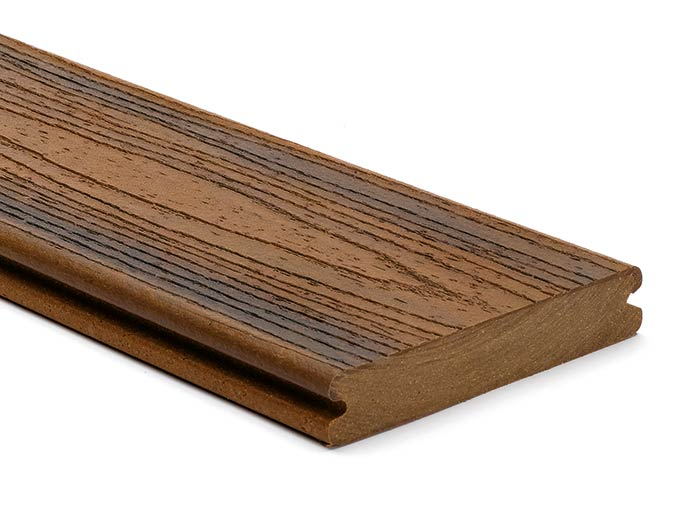 Trex Transcend Spiced Rum grooved board