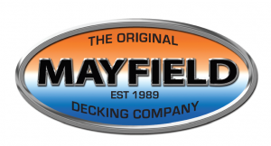 Logo of the original Mayfield decking company