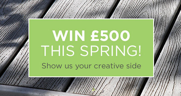 Win £500 this spring