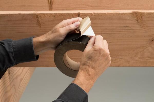 Trex protect tape peeling