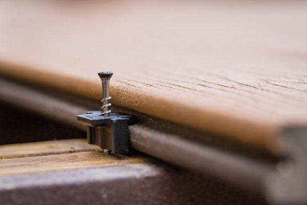 Trex Hidden Fastener close-up