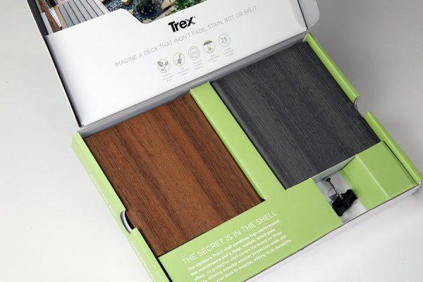 Trex sample box