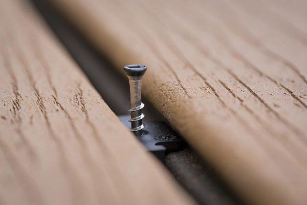 Hidden fastener detail