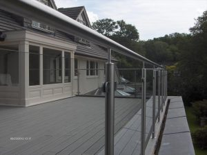 Trex® decking on a balcony