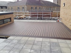 Commercial roof decking