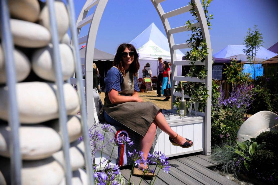 Lucy's garden's big win at the royal Norfolk show