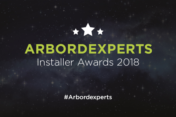 Arbordexperts Installer Awards