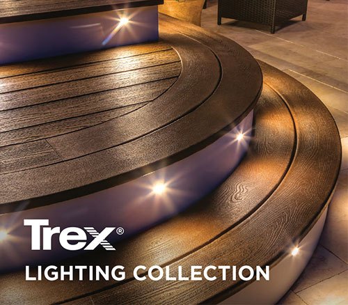 Trex light collection cover