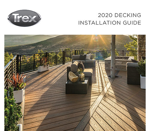 Cover for Trex decking installation guide