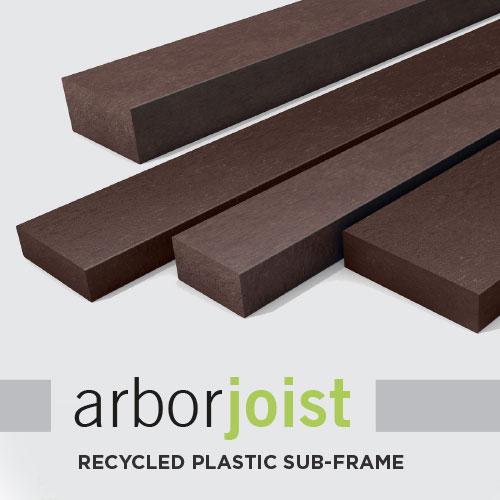 ArborJoist Recycled Plastic Sub-frame