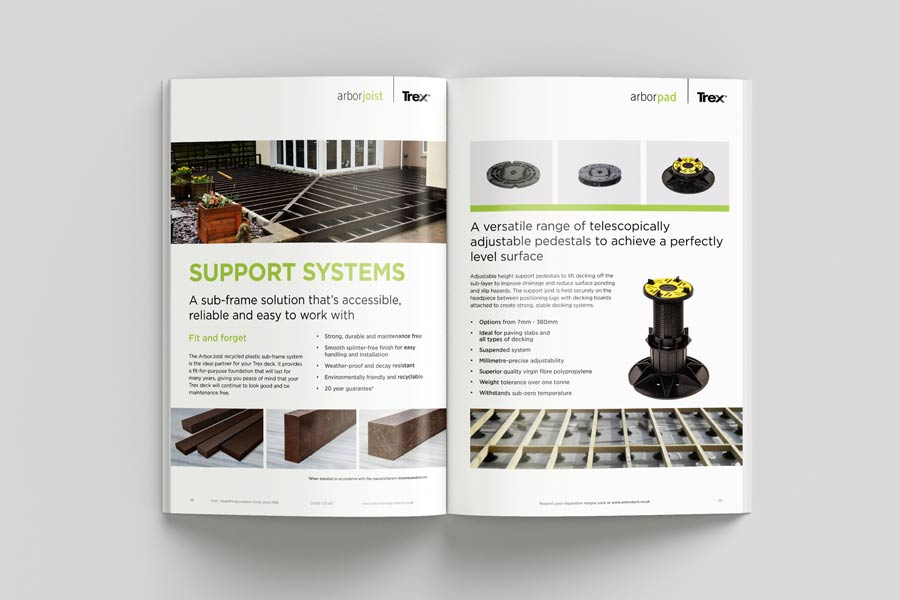 New products from Trex brochure