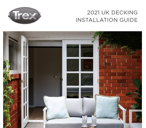 Cover of UK decking installation guide